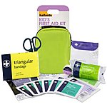 image of Halfords Childrens First Aid Kit - Green