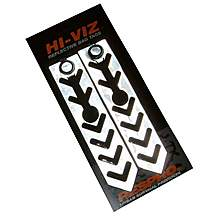 image of Respro Reflective Hang Tag - Chevron