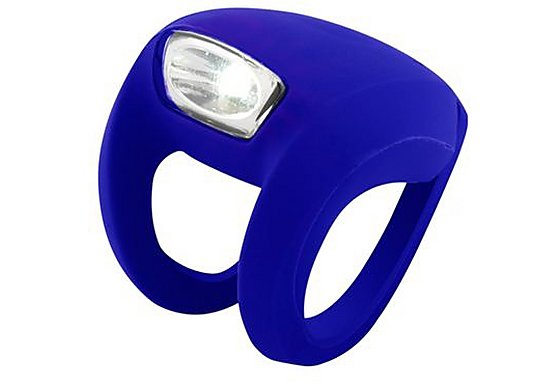 Knog Strobe Front LED Bike Light - Purple