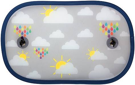 image of Halfords Pop-up Sunshades Cloud x2
