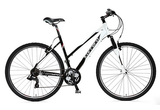 Carrera Crossfire 1 Ladies Hybrid Bike 2011/2012 - Medium 18
