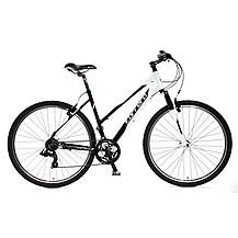 image of Carrera Crossfire 1 Ladies Hybrid Bike - Medium 18""