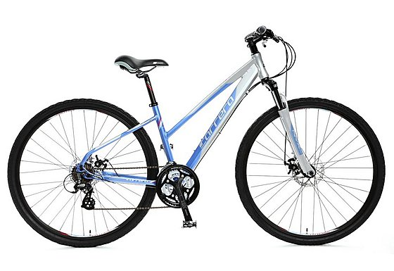 Carrera Crossfire 2 Ladies Hybrid Bike - Medium 16