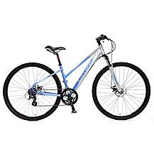 image of Carrera Crossfire 2 Ladies Hybrid Bike - Large 18""