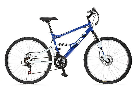 Apollo Outrider Full Suspension Mountain Bike - 20