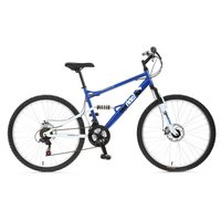 Apollo Outrider Full Suspension Mountain Bike - 20""