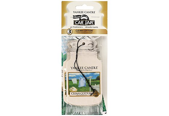 Yankee Candle Clean Cotton Air Freshener 3pk
