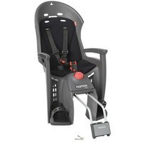 Hamax Siesta Rear Child Bike Seat - Grey/Light Grey with lockable bracket