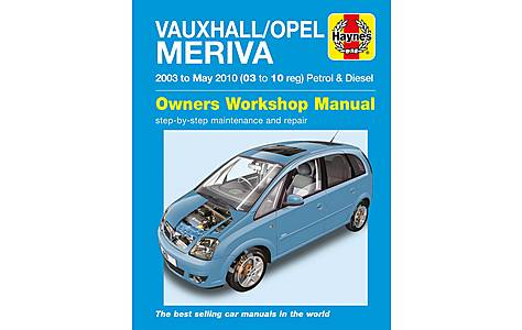 image of Haynes Vauxhall/Opel Meriva (03-10) Manual
