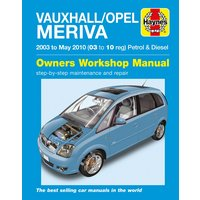 Haynes Vauxhall/Opel Meriva (03-10) Manual