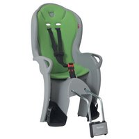 Hamax Kiss Rear Child Bike Seat - Grey and Green