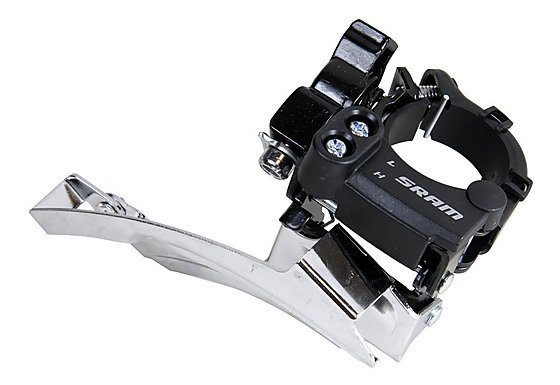 SRAM 3.0 High Clamp Top Pull Front Derailleur - 34.9mm