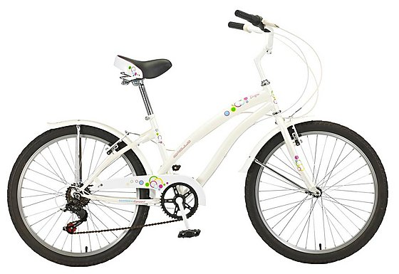 Apollo Tropic Girls Cruiser Bike - 24