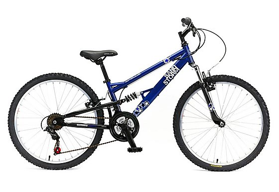 Apollo Sandstorm Boys Mountain Bike - 24