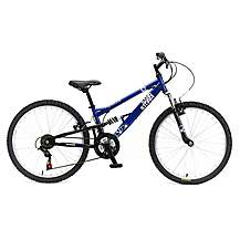 image of Apollo Sandstorm Boys Mountain Bike - 24""