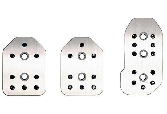 Ripspeed 3 Piece Aluminium Pedal Set