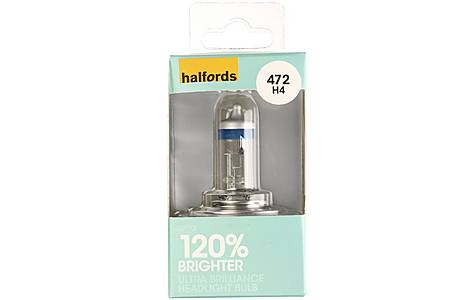 image of Halfords (HBU472UB) Ultra Brilliance Car Bulb
