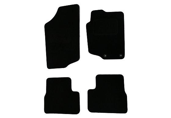 Halfords (SS1864) Peugeot 207 & 207cc Car Mats (06 - 12) - Black