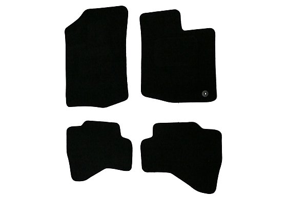 Halfords (SS1872) Toyota Aygo Car Mats (05 - 13) - Black