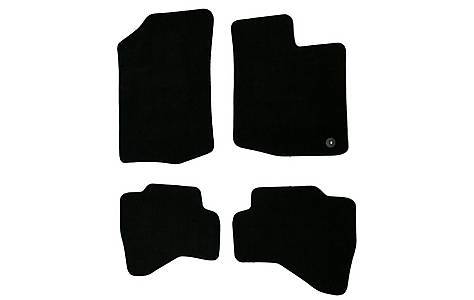 image of Halfords (SS1872) Toyota Aygo Car Mats (05 - 13) - Black