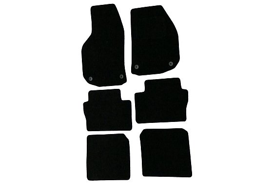 Halfords (SS2041) Vauxhall Zafira Car Mats (06 on) BLK