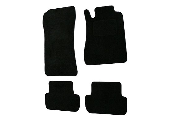 Halfords Adv'd (SS2122) Mercedes CLK Car Mats (03 on) BLK