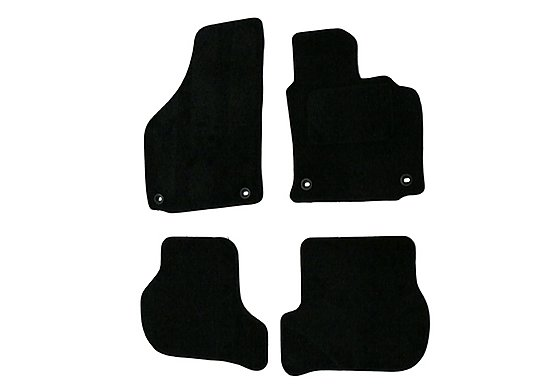 Halfords Advanced (SS2126) VW Golf 5 Car Mats (04-07) BLK