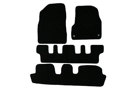 image of Halfords Citroen C4 Picasso 7 Seat Car Mats (07 - 13) - Black