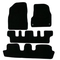 Halfords Citroen C4 Picasso 7 Seat Car Mats (07 - 13) - Black