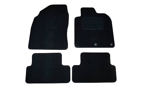 image of Halfords (SS2325) Nissan Qashqai Car Mats (2007 - 2010) BLK