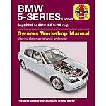 image of Haynes BMW 5 Series (53-10) Manual