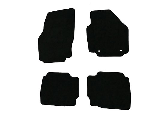 Halfords Advanced (SS2523) Ford Mondeo Car Mats (2007 - 2012 Oval Clips) BLK