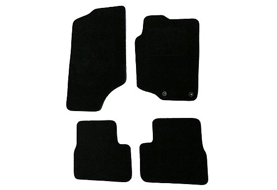 Halfords Advanced (SS2706) Peugeot 207/207cc Car Mats (06 - 12) - Black