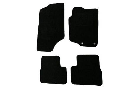 image of Halfords Advanced (SS2706) Peugeot 207/207cc Car Mats (06 - 12) - Black