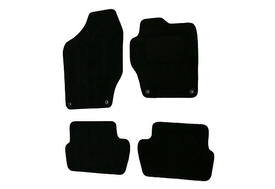 Halfords Advanced (SS2714) Peugeot 308 Car Mats (08 on) BLK