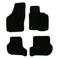 Halfords Advanced (SS2794) Skoda Octavia Car Mats (2008 - 2013) BLK