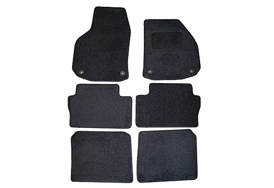 Halfords Advanced (SS2868) Vauxhall Zafira Car Mats (06 on) BLK