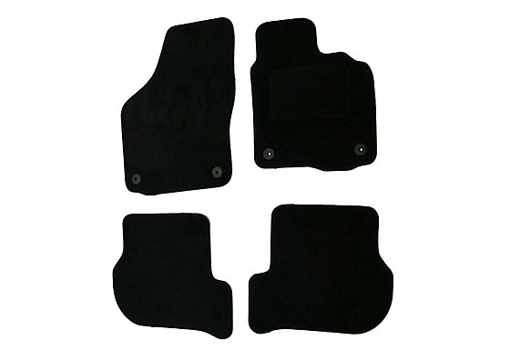 Halfords Advanced (SS2971) VW Golf 6 Car Mats (08 - 12) - Black