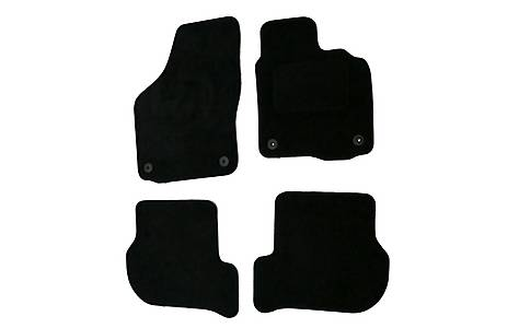 image of Halfords Advanced (SS2971) VW Golf 6 Car Mats (08 - 12) - Black
