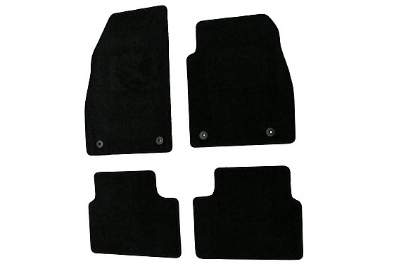 Halfords Adv'd (SS2989) Vauxhall Insignia Car Mats (08 on) BLK
