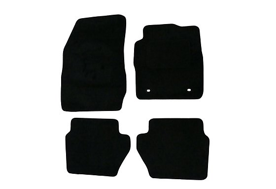 Halfords Advanced (SS3283) Ford Fiesta Mk7 Car Mats (09-11 Oval Fixing Rings) BLK