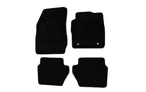 image of Halfords Advanced (SS3283) Ford Fiesta Mk7 Car Mats (09-11 Oval Fixing Rings) BLK
