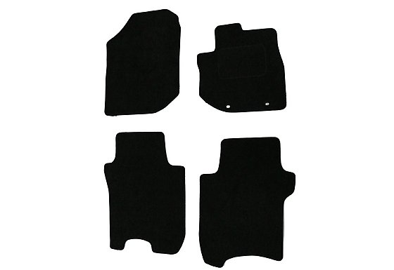 Halfords Advanced (SS3350) Honda Jazz Car Mats (08 on) BLK