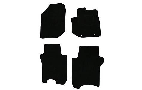 image of Halfords Advanced (SS3350) Honda Jazz Car Mats (08 on) BLK