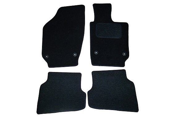 Halfords (SS3525) VW Polo Car Mats (09 on) BLK