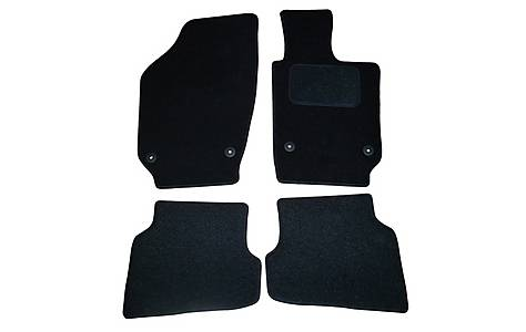 image of Halfords (SS3525) VW Polo Car Mats (09 on) BLK