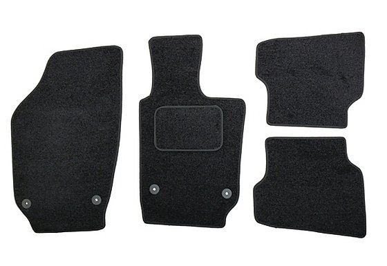 Halfords Advanced (SS3527) VW Polo Car Mats (09) BLK