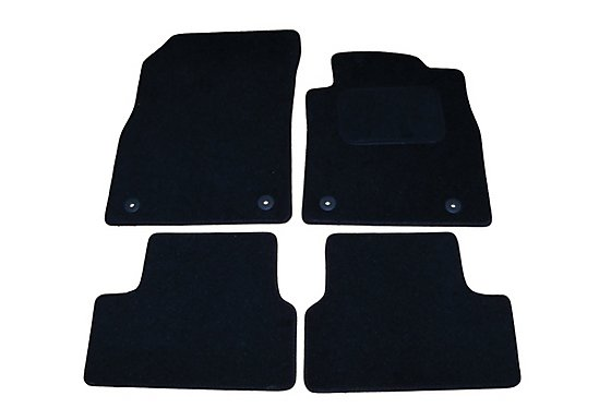 Halfords (SS3549) Vauxhall Astra Car Mats (2010 on) BLK