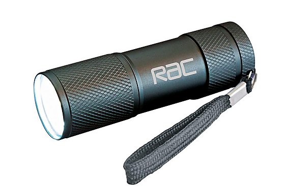 RAC 9 LED Aluminium 3 AAA Torch