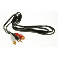 Autoleads Car Audio to MP3 Player RCA Connector Lead